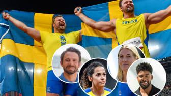 Växjö kommun firar OS-hjältarna i Linnéparken