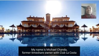 European Consumer Claims, ECC, client testimony from Michael Chanda, Club La Costa claimant