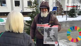 Nu er Hus Forbi-sælgere iført kasseret termotøj fra Berendsen