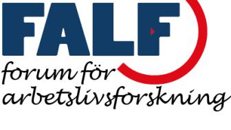 Årets FALF-konferens arrangeras på SLU Alnarp av Institutionen för Arbetsvetenskap, Ekonomi och Miljöpsykologi samt Kompetenscentrum Företagsledning.