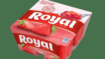 Este verano, Royal relanza su gama de gelatinas y reduce un 30% el azúcar en su línea regular