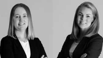 Jenny Ahlman och Marie Engström Rosenkvist, båda Franchisetagare samt Reg. fastighetsmäklare.