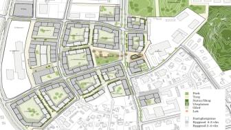 Masterplan Övre Bryggårdsgärdet