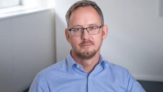 Henrik Stävberg, förhandlingschef på IKEM