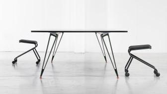 Lammhults presenterar ATTACH bordssystem i samarbete med Troels Grum-Schwensen. Stockholm Furniture Fair 2016