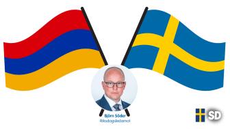Björn Söder tilldelas Armeniens högsta civila utmärkelse, Mkhitar Gosh-medaljen