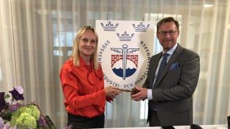 Kerstin Lindell vald till ny ordförande i Handelskammaren