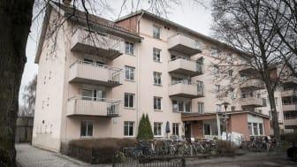 Frälsningsarmén Sagahemmets härbärge i Uppsala har sex sovplatser för kvinnor. Nu utökar härbärget öppettiderna under helgen. Foto: Jonas Nimmersjö