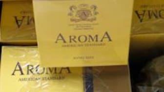 Op Indelible Aroma cigarettes seized July 2012