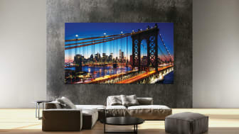 Expanded MicroLED, QLED 8K and Lifestyle TV