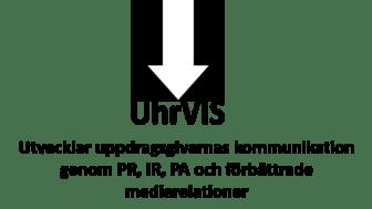 UhrVIS  – utvecklar uppdragsgivarnas kommunikation genom PR, IR, PA och förbättrade medierelationer.