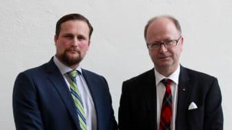 Carl Johan Sonesson och Pontus Lindberg.