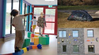 Ny offentlig konst skapar magi på Örebros förskolor