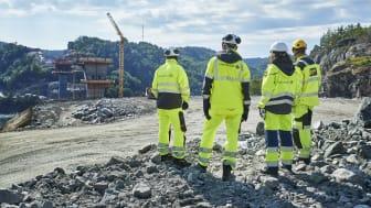 Befaring av byggingen av Trysfjordbrua på E39 Kristiansand vest - Mandal øst. (Foto: Bård Gudim)