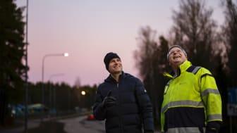 Göran Schlegel, Elektroskandia och Daniel Lagmyr, Katrineholms kommun.