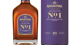 """ANGOSTURA PRESENTERAR No. 1 2nd Edition Once Used French Oak """"The Cask Collection"""" serien!"""