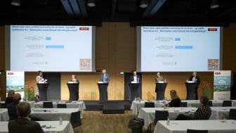 Der diskuteres teknologipolitik på ATV's teknologiske topmøde 2020.