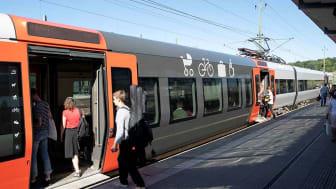 Redan nu har 65 av 111 Öresundståg utrustning som gör det möjligt att koppla upp sig mot fritt Wi-Fi ombord på tågen.