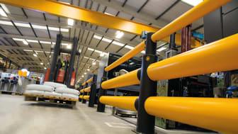 A-SAFEs flexibla och innovativa krockskydd finns nu i Christian Berners sortiment