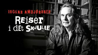 – Jeg lover at dette skal bli skikkelig spennende, sa Ingvar Ambjørnsen da han startet opp «Reiser i det skjulte».  (Foto: Marie Sjøvold)