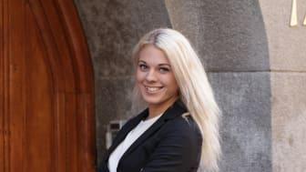 Alexandra Eldin, marknadsansvarig på Hittamäklare