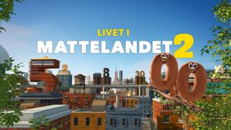 Livet i Mattelandet Årets barnprogram Kristallen 2019