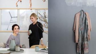 Eco Wallpaper lanserar filmserie med toppbloggare - Frida från Trendenser och Pella från Stilinspiration inspirerar i nya filmer