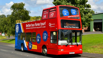 Open-top buses set to spread sunshine cheer and happiness