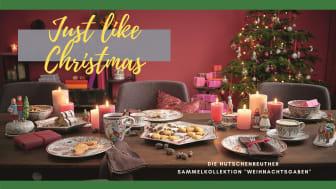 """Just Like Christmas: Die Hutschenreuther Sammelkollektion """"Weihnachtsgaben"""""""