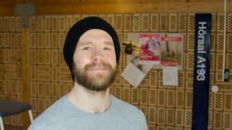 Johan Bergstrand, läser datorgrafik vid Luleå tekniska universitet och deltog i Gradshow.