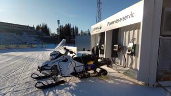Ferroamp levererar mobilt batterilager till Vattenfall