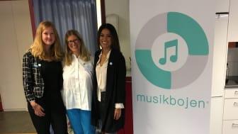 Ny musikterapiverksamhet i Norrtälje  invigdes av Nikki Amini