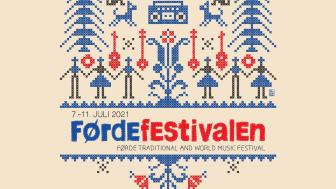 Årets festivalprofil 'ropar' på handarbeid. Designar: Piotr Pucylo