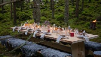 Visit Sweden och svenska turistregioner har öppnat hela Sverige som en gourmetrestaurang. Kampanjen The Edible Country flyttar nu till Lyon och världsmästerskapen för mat och bakverk. Foto: August Dellert