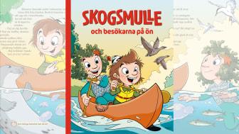 Ny sagobok med Skogsmulle lär barn om allemansrätten