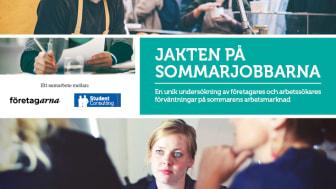 Svårigheter för företagare att rekrytera sommarjobbare samtidigt som arbetstagarna ser ljust på arbetsmarknaden.