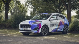 Få en mindful køreoplevelse i den nye Mindful Concept Car.