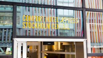 BO MED REKORDFART: Comfort Hotel Xpress Stockholm lancerer nu 5G-opkoblede hotelværelser.