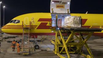 DHL Express spelar en viktig roll i den europeiska logistiken av Covid-19-vaccin