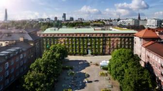 Riksbyggens Brf NEO Davidshall i Malmö.