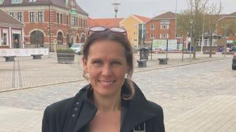 Vibeke Wulff, ny franchisetagare för fastighetsmäklarkedjan HusmanHagberg i Tomelilla