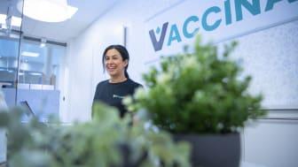 Tuluo Nygård är verksamhetsansvarig vid dotterbolaget Vaccinas provtagningsenhet i Umeå. Bild: Patrick Trädgårdh, Umebild