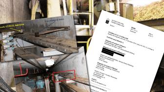 Klämdes pappersarbetaren till döds eller dog han av hjärtfel? Hovrättens dom finns Säker Energimiljös kunskapsbank.