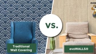 evoWALLS vs. Traditional Wall Coverings