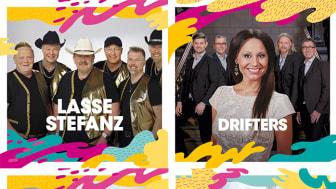 Lasse Stefanz, Drifters, Larz-Kristerz & Blender m.fl. till Malmöfestivalen!
