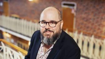 Anders Fajersson, rektor på Midsommarkransens gymnasieskola. Foto: Björn Tesch/BERG