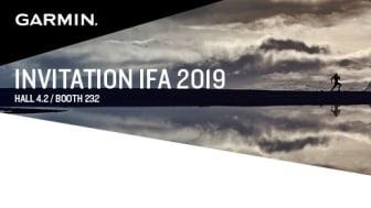 Garmin präsentiert auf der IFA 2019 die neue Produktlinie.