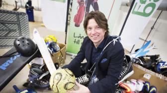 Peter Gitselov driver Fritidsbanken Boden.