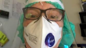 IVA-sköterskan Karin Morander.