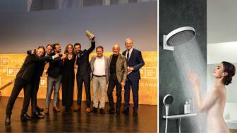 iF DESIGN AWARD 2019 uddelt i München. Vinder: Den nye bruserserie fra hansgrohe.